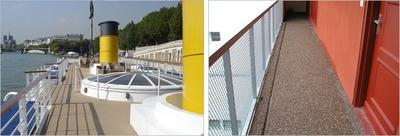 Revêtement de sol coulé exterieur BOULENGER : TERRAZOFLEX E, E comme Excellent, et par tous les temps !  Batiweb