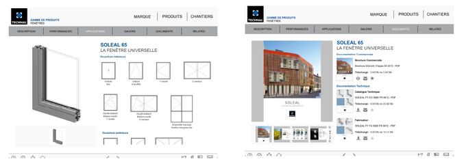 Nouvelle application «TECHNAL APP» pour tablette numérique du concept au projet en quelques clics ! - Batiweb