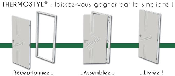 THERMOSTYL : L'ouvrant monobloc à haute performance thermique pour dormants PVC