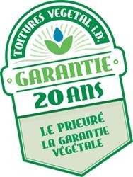 Avec la Garantie Végétale 20 ans Le Prieuré, votre toiture végétalisée est belle pour longtemps ! Batiweb