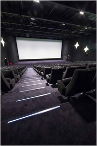 Au cinéma, la moquette en fibre Antron® se glisse sous les pas des spectateurs : les raisons d'un succès. Batiweb