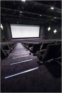 Au cinéma, la moquette en fibre Antron® se glisse sous les pas des spectateurs : les raisons d'un succès.