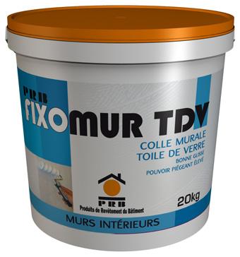PRB présente Fixomur TDV ! - Batiweb