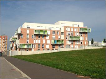 Des logements sociaux performants et confortables avec les rupteurs de ponts thermiques Schöck Batiweb