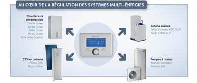 L'expert control intègre une nouvelle fonctionnalité :  l'affichage des consommations d'energie Batiweb
