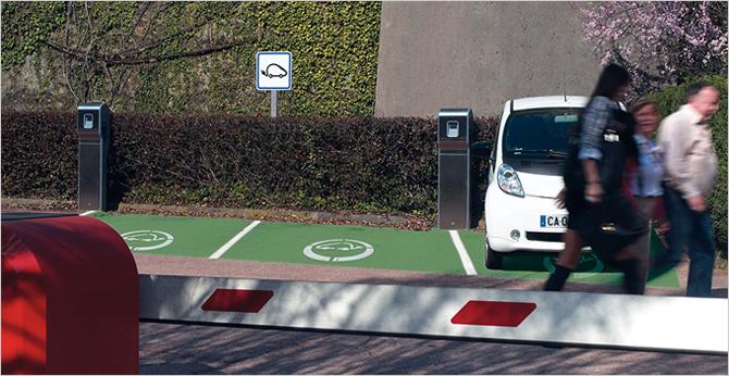 Recharge des véhicules électriques : les solutions Green'Up facilitent le quotidien - Batiweb
