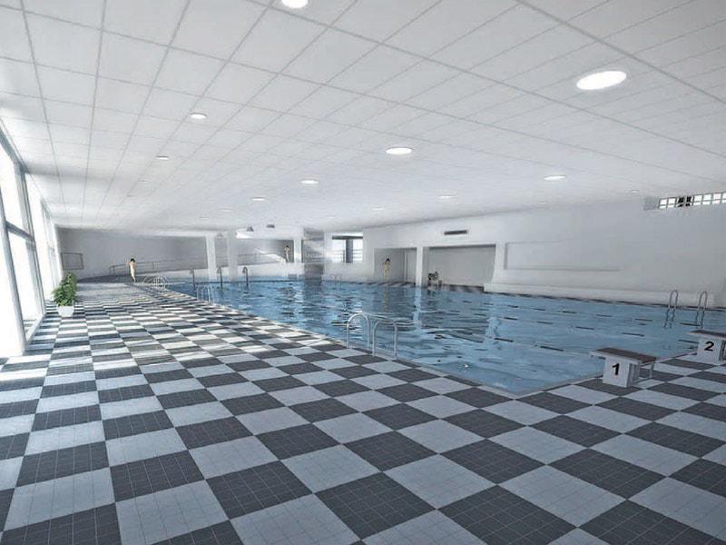 Knauf AMF présente Thermatex® Aquatec : la nouvelle dalle pour plafonds modulaires résistante à 100% d'humidité relative ! - Batiweb