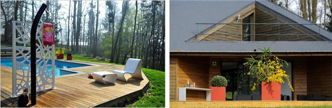 Une gamme en béton pour l'aménagement des terrasses et des jardins - Batiweb