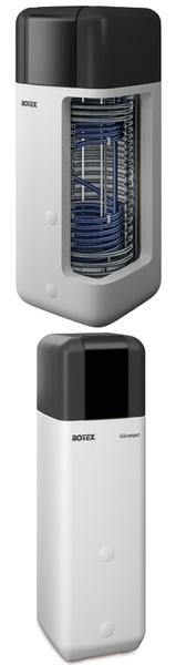 Chaudière sol gaz à condensation avec accumulateur intégré ROTEX GCU compact - Batiweb