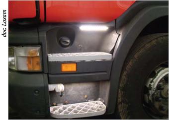 LOXAM adopte le kit éclairage camion conçu par Spie batignolles TPCI : une solution simple, un atout sécurité !