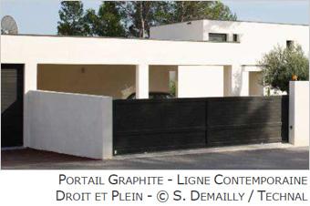 Sécuriser et embellir son habitat avec les portails graphite et les garde-corps GYPSE - Batiweb