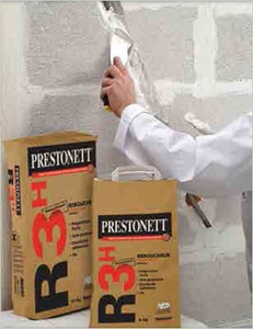 Prestonett R3H de Beissier, pour reboucher vite et bien sur tous supports Batiweb