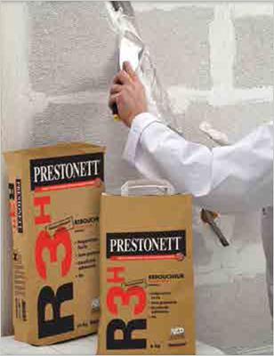 Prestonett R3H de Beissier, pour reboucher vite et bien sur tous supports - Batiweb