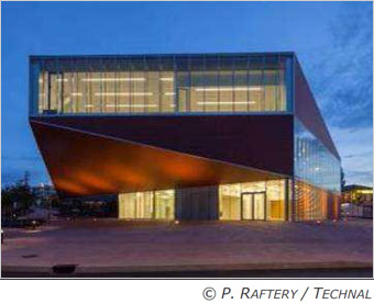 L'expertise TECHNAL au service des bâtiments culturels Batiweb