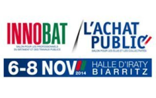 La 19ème édition du salon INNOBAT – ACHAT PUBLIC a lieu à la Halle d'Iraty de Biarritz, du 6 au 8 novembre 2014