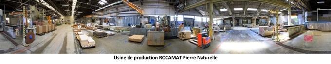 Usine de production