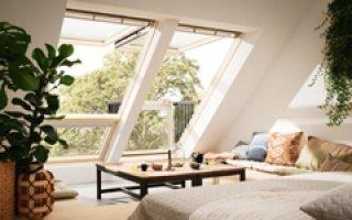Verrière balcon VELUX CABRIO® Nouvelle Génération VELUX : Offrir une nouvelle perspective à ses combles - Batiweb