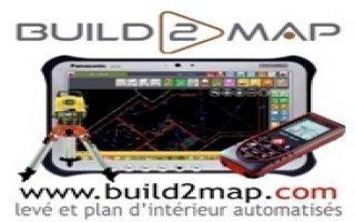 Build2map levé d'intérieur et façades - Métré d'intérieur avec plan automatisé