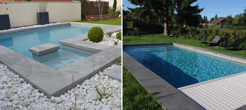 Rouvière Collection propose des fabrications sur mesure de margelles et dalles pour l'aménagement de la piscine et de ses abords - Batiweb