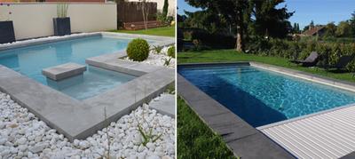 Rouvière Collection propose des fabrications sur mesure de margelles et dalles pour l'aménagement de la piscine et de ses abords Batiweb