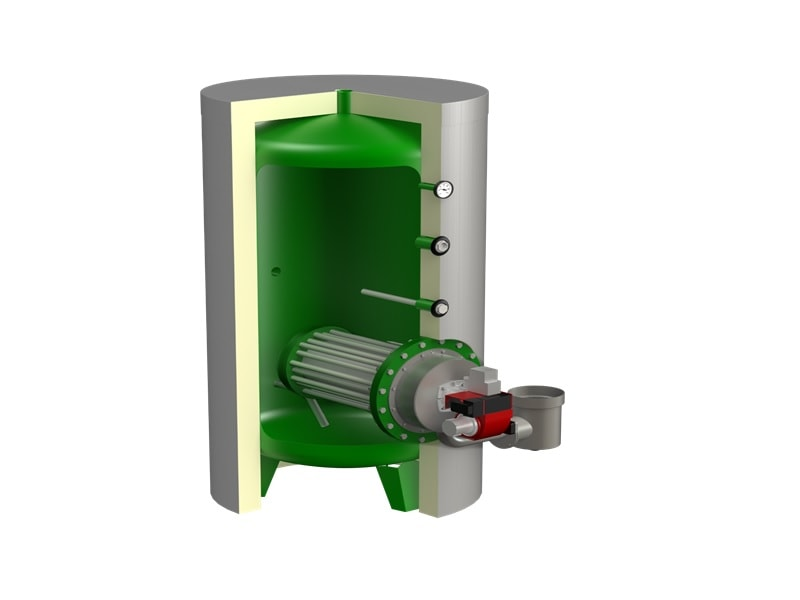 Générateur E.C.S. +ECO GAZ à condensation : La solution gaz pour le collectif et tertiaire - Batiweb