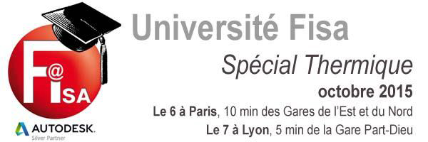 Université Fisa, spécial thermique du 6 au 7 octobre 2015 - Batiweb