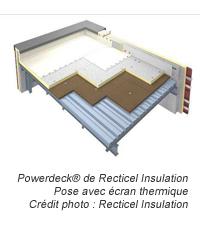 Nouvelle gamme complète inédite d'isolants pour toitures terrasses sur bac acier : choisir la solution adaptée à chaque application