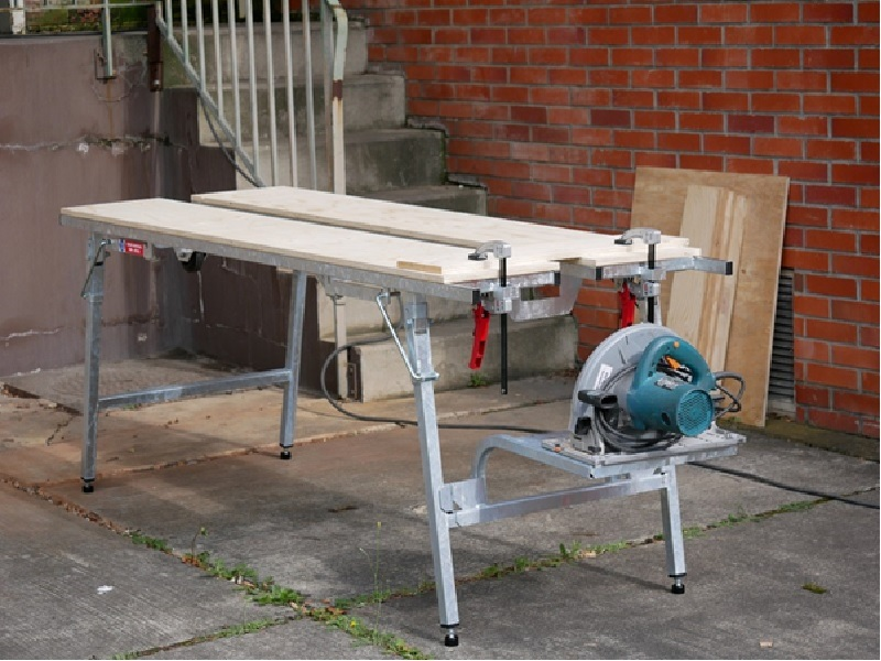 Table de sciage ergonomique ANOXA Batiweb