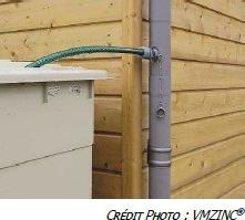 Récupérateurs d'eau VMZINC® : Le recyclage des eaux pluviales, un geste écologique et économique
