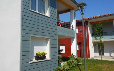 SCB - BARDAGE DURACOLOR®, l'esthétique du bois la durabilité du ciment