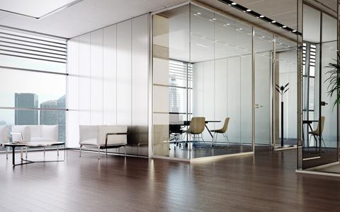 QOVANS® lance LIOS®, la cloison à LEDS intégrées pour l'aménagement de bureaux - Batiweb