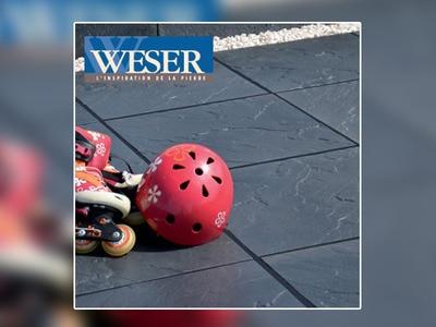 Les dalles et pavés des Terrasse Weser Batiweb