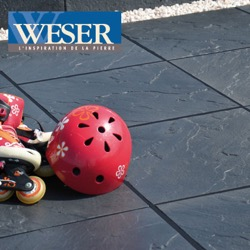 Les dalles et pavés des Terrasse Weser