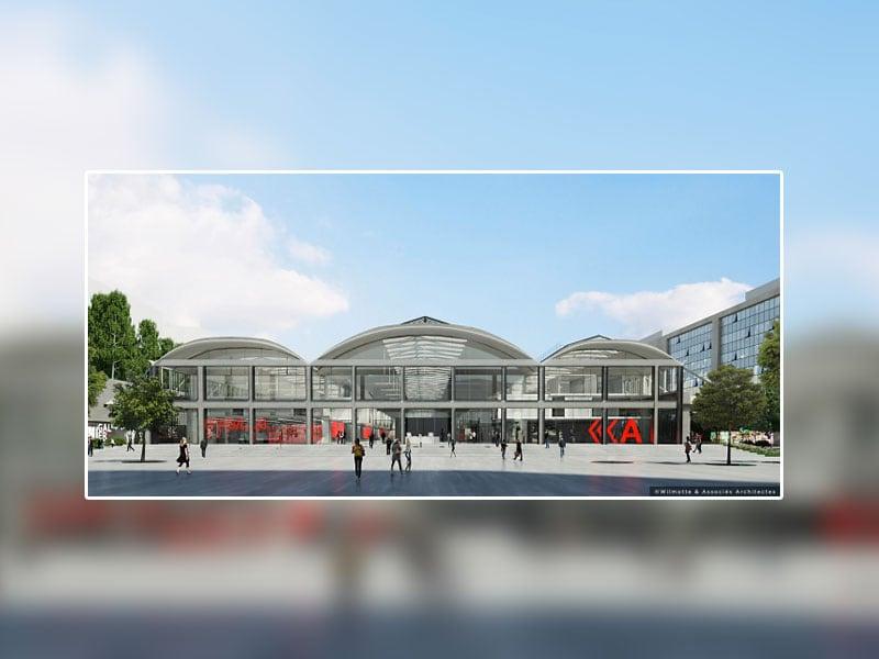 Ancienne halle de la SNCF transformée en lieu de travail pour accueillir des futurs start-ups - Batiweb