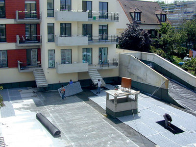 Gestion des eaux pluviales en toiture terrasse Batiweb