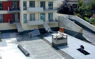 Gestion des eaux pluviales en toiture terrasse.