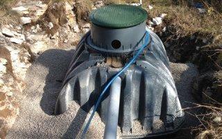 ANC : Installation d'une micro-station en terrain rocheux