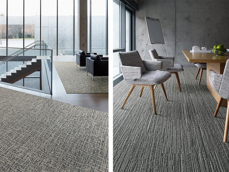 Au bureau, comme à la maison ? Interface présente sa nouvelle collection internationale inspirée des textures classiques et textiles rétro ! - Batiweb