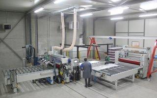 Euradif investit dans une nouvelle ligne d'encollage automatisé - Batiweb