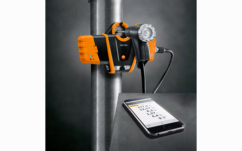 Nouvel analyseur de combustion connecté TESTO 330I, un maniement révolutionnaire, une technologie éprouvée !