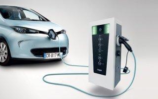 Nouvelles bornes de charge pour véhicules électriques et hybrides : avec witty park, Hager part à la conquête du tertiaire - Batiweb