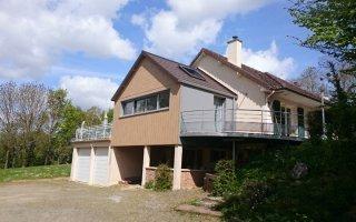 Une toiture et une facade prefa pour une belle extension - Batiweb