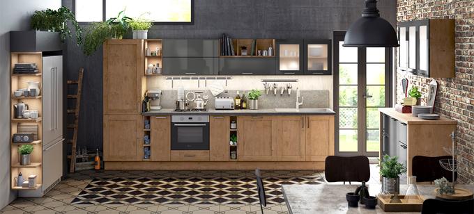 Tendance à la sobriété pour une cuisine moderne épurée - Batiweb