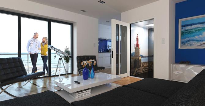 Une autre vision de la maison individuelle avec l'ascenseur privatif. - Batiweb