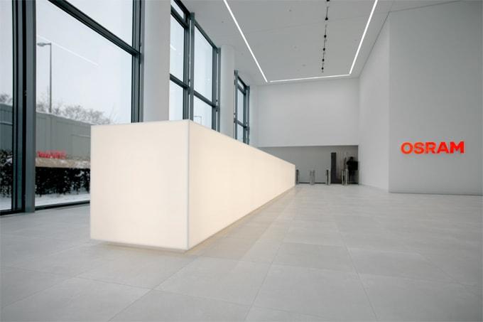 HI-MACS® illumine le siège social d'OSRAM à Munich
