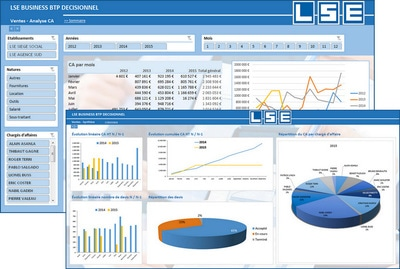 LSE BUSINESS BTP : Mobilité et B.I. intègrent l'ERP Batiweb