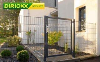 Portillon de jardin pour résidences et collectivités