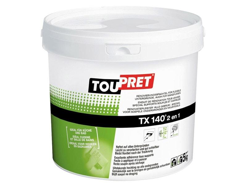 TOUPRET TX 140® 2 en 1 Le premier enduit « spécial pièces humides » pour les Pros - Batiweb