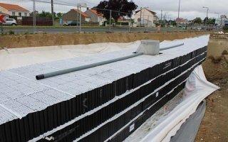Stockage et infiltration de l'eau pluviale en milieu urbain