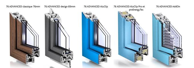 L'avenir se profil avec la gamme 76 Advanced! - Batiweb